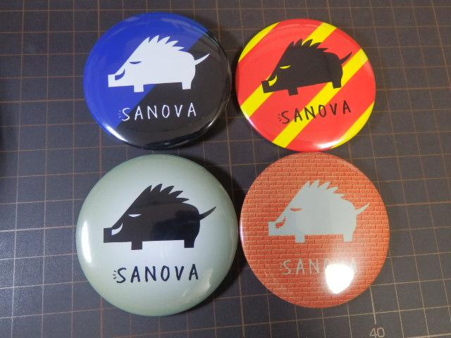 SANOVA缶バッジ