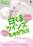 札幌市円山動物園オフィシャルDVD 白くまツインズものがたり ~ふたごの赤ちゃんうまれたよ~ カバー画像