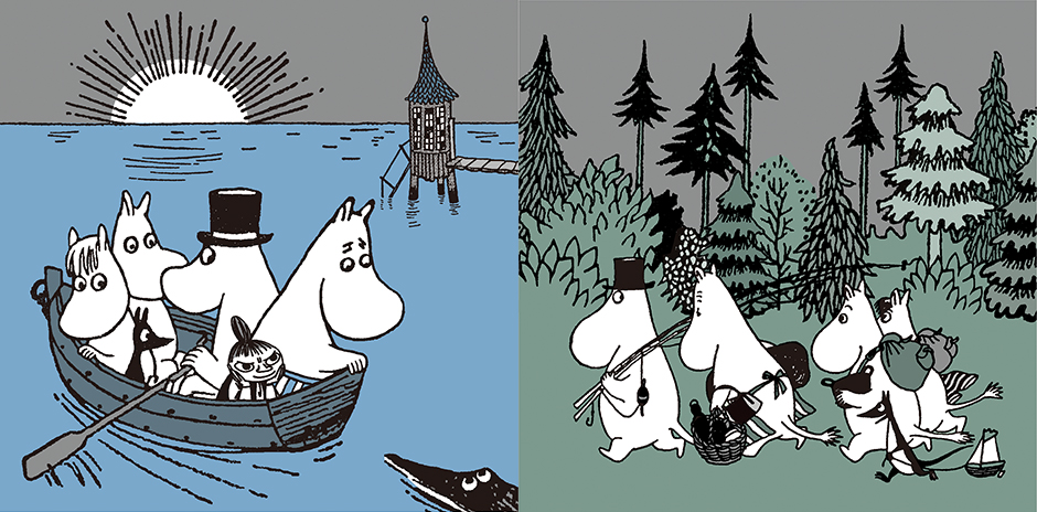 Joy with Moomin